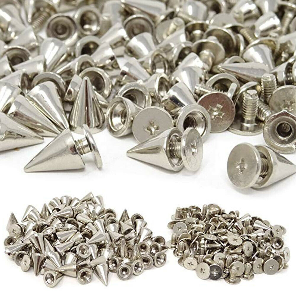 Small Cone 10mm Screw Back - Bag of 100