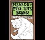 Please Don&#39t Feed The Bears: A Vegan Cookbook - Book