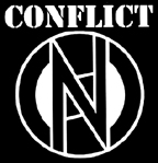 Conflict - Logo - Hooded Sweatshirt