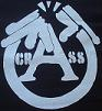 CRASS - Broken Gun - Back Patch