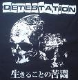 DETESTATION - Skulls - Back Patch