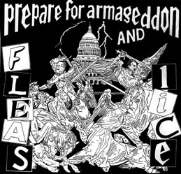 Fleas And Lice - Prepare For Armageddon (cd)