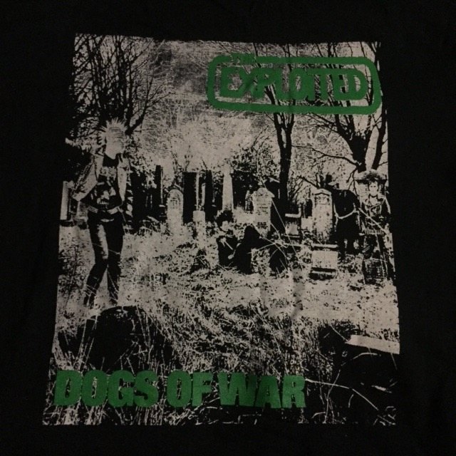 Exploited - Dogs of War - Shirt