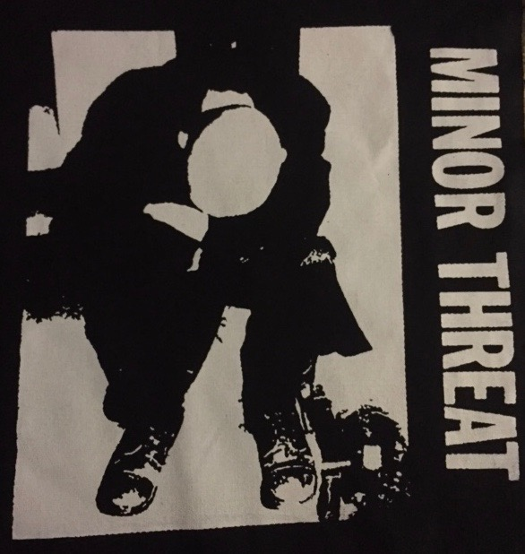 MINOR THREAT - Head Down - Back Patch