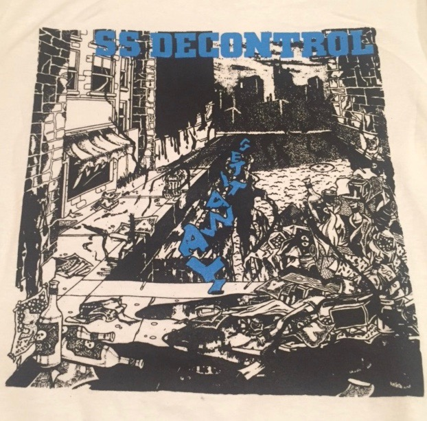 SS DECONTROL - Blue - Back Patch