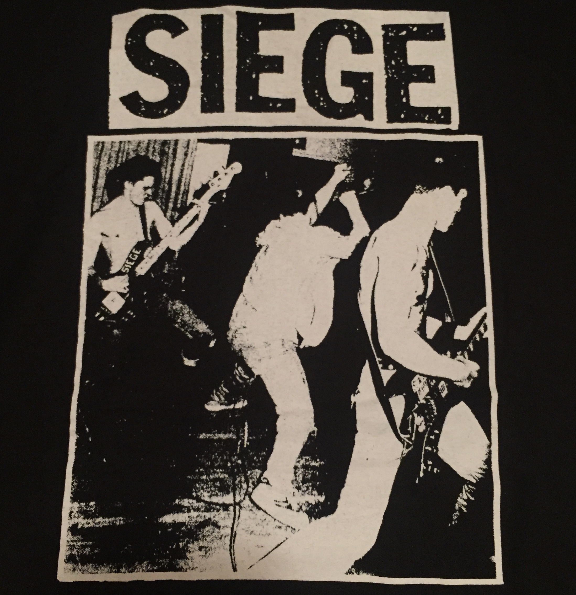 Siege - Band - Shirt