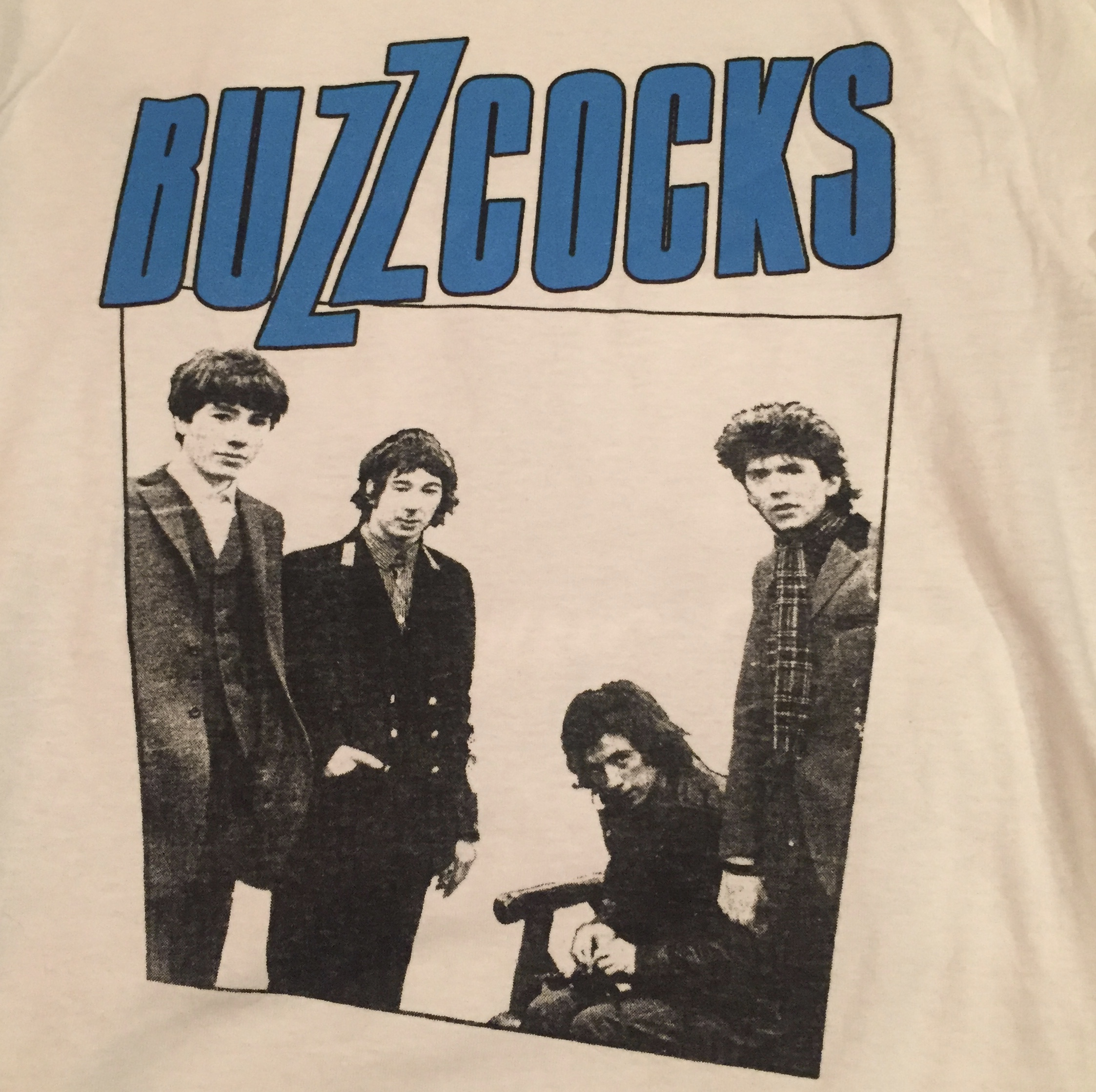 BUZZCOCKS - Band - Back Patch