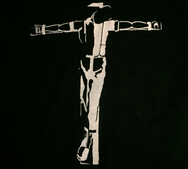 SKIN - Crucified - Back Patch