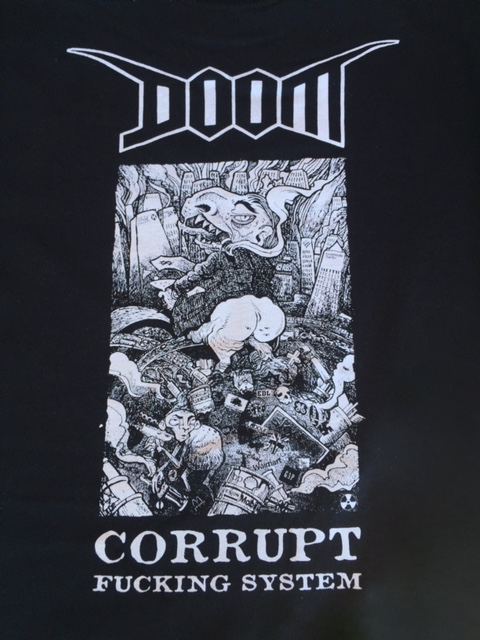 DOOM - Corrupt - Back Patch