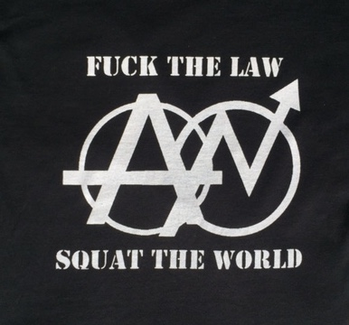 SQUAT THE WORLD - Back Patch