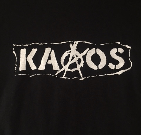 KAAOS - Name - Back Patch