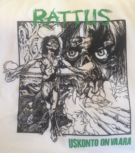 Rattus - Crucifix Green - Shirt