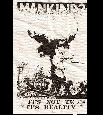 MANKIND? - Back Patch