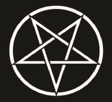 Pentagram Star - Button
