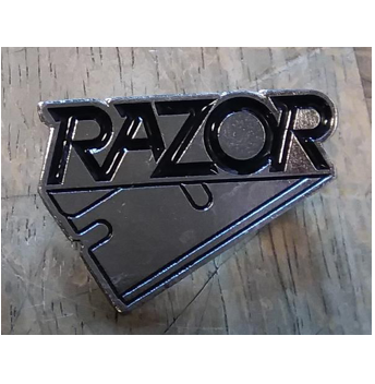 Razor - Metal Badge