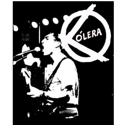COLERA - Back Patch