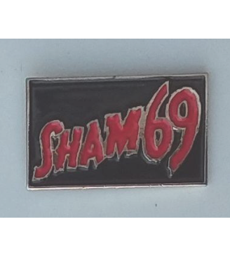 Sham 69 - Metal Badge