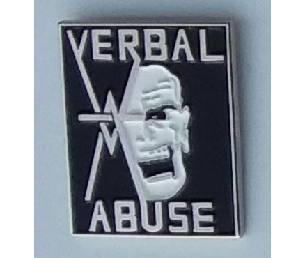 Verbal Abuse - Metal Badge