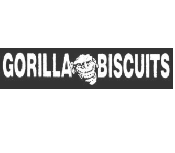 GORILLA BISCUITS - Name - Patch