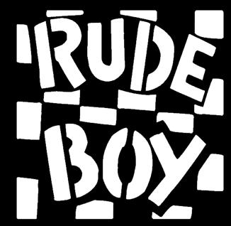 RUDE BOY - Patch