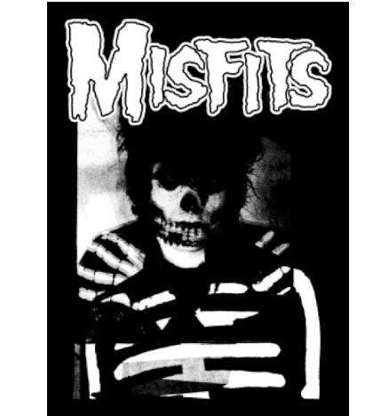 MISFITS - Danzig - Back Patch