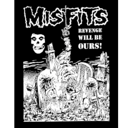 MISFITS - Revenge - Back Patch