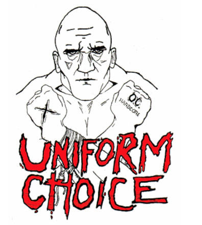 UNIFORM CHOICE - Back Patch