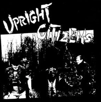 UPRIGHT CITIZENS - Back Patch