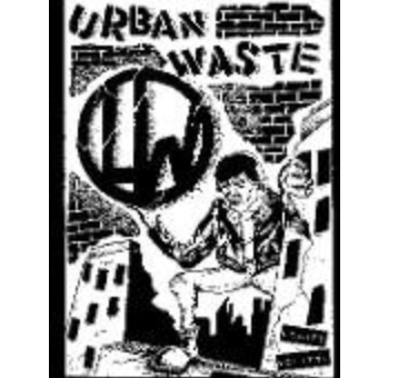 URBAN WASTE - Scared - Back Patch