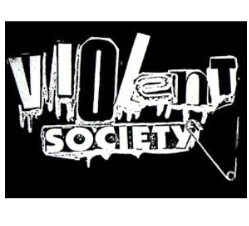 VIOLENT SOCIETY - Back Patch