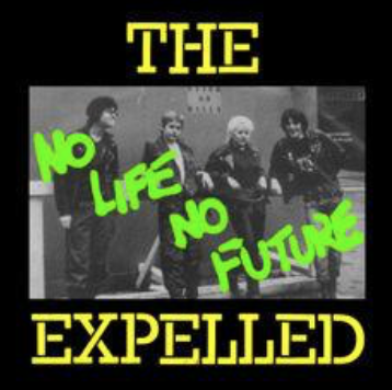 EXPELLED - No Future - Back Patch