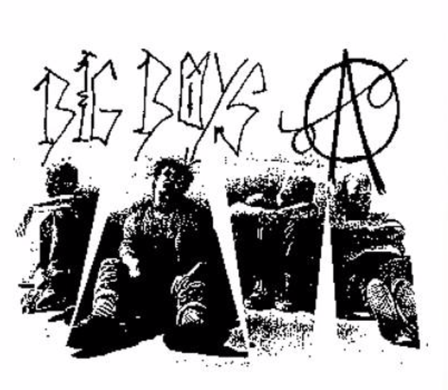 BIG BOYS - Back Patch