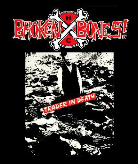 BROKEN BONES - Trader - Back Patch