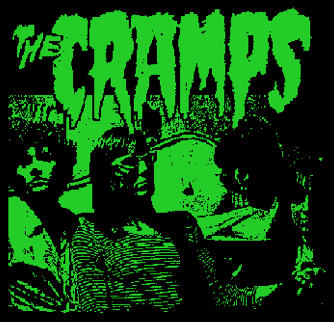 CRAMPS - Band - Back Patch