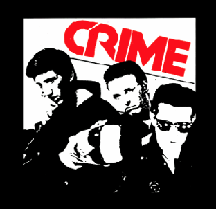 CRIME - Back Patch