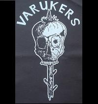 VARUKERS - Skull - Back Patch