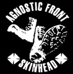 AGNOSTIC FRONT - Skinhead - Back Patch