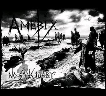 AMEBIX - No Sanctuary - Back Patch