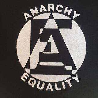 Anarchy / Equality - hooded sweatshirt
