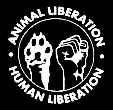 Animal Liberation / Human Liberation - Hooded Sweatshirt