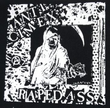 ANTI CIMEX - Raped Ass - Back Patch