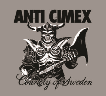 Anti Cimex - Sweden - Button