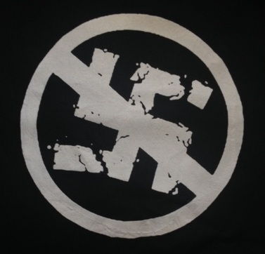 ANTI NAZI - Back Patch