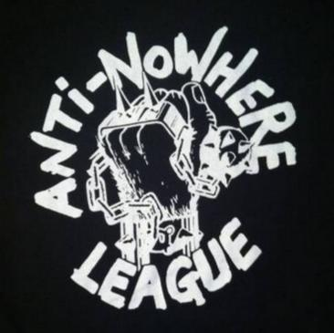 ANTI NOWHERE LEAGUE (White) - Back Patch