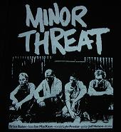 MINOR THREAT - Back Patch