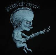 ICONS OF FILTH - Guitar - Back Patch