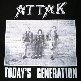 ATTAK - Today&#39s Generation - Back Patch