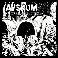 AVSKUM - Spirit - Back Patch