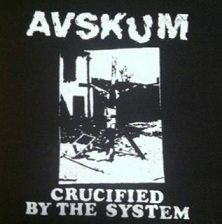 AVSKUM - Crucified - Patch