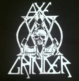 AXEGRINDER - Skull Axe - Patch